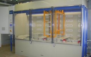 Labor für Stranggießanlage und Grobblechwalzwer