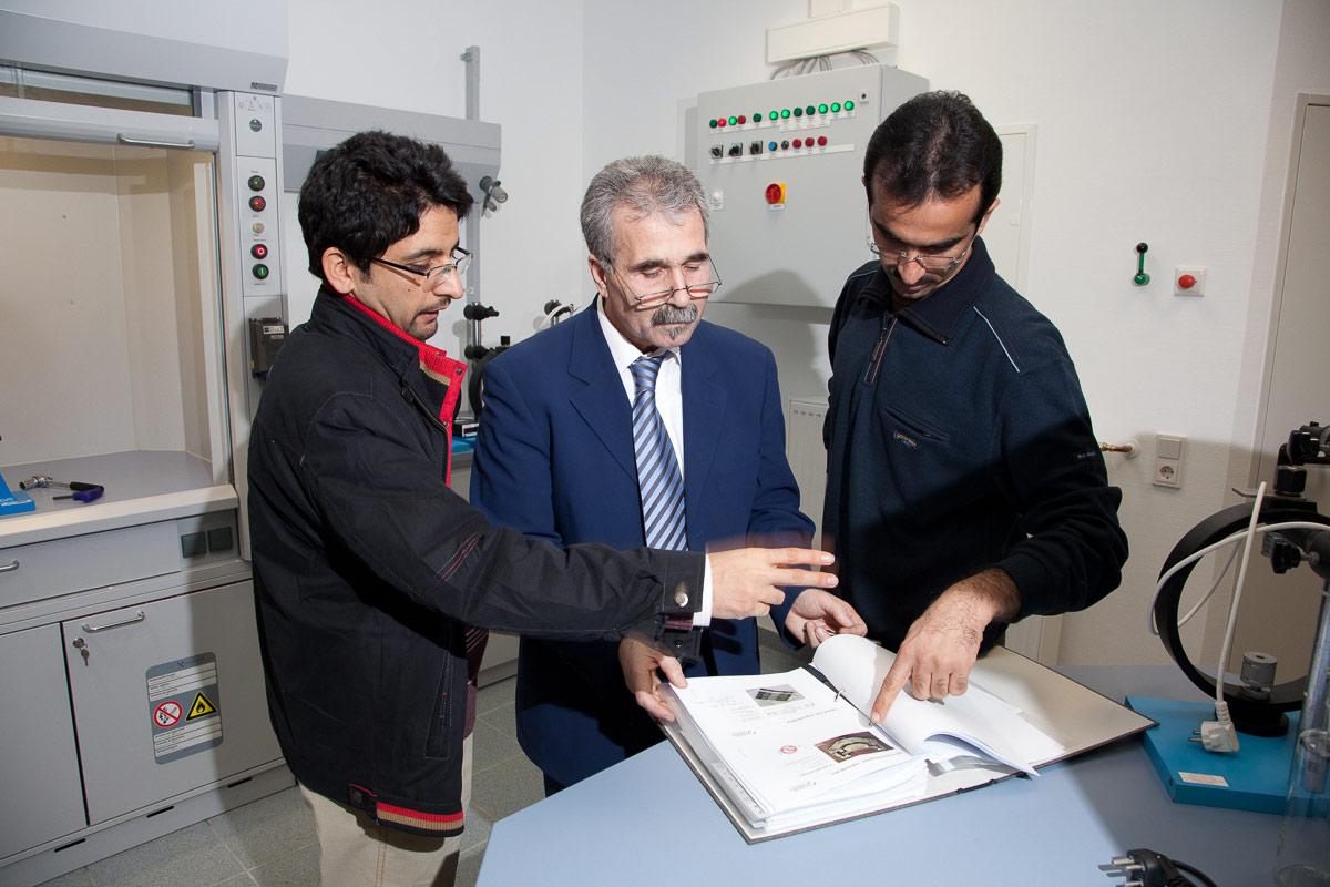 Labor für HIC-Test nach NACE Standard