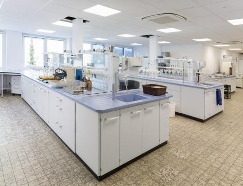 Labor für die Krombacher Brauerei fertiggestellt
