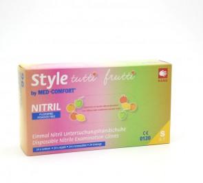 Nitril-Handschuhe Med-Comfort Style Tuttifrutti