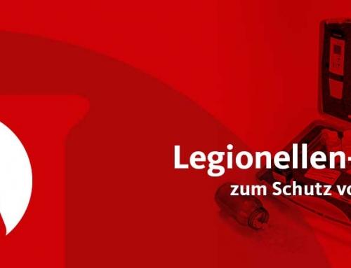 Testkits zum Schutz vor Legionellen