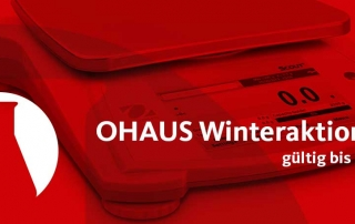 OHAUS Winteraktion 2017