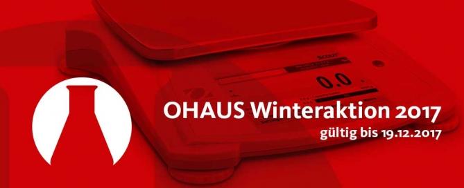 OHAUS Winteraktion 2017