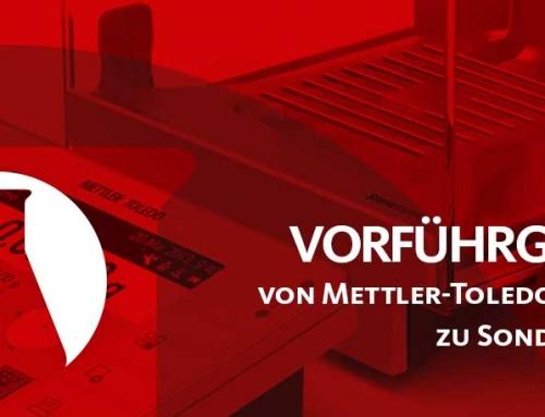 Mettler-Toledo & Ohaus Vorführgeräte zu Sonderpreisen