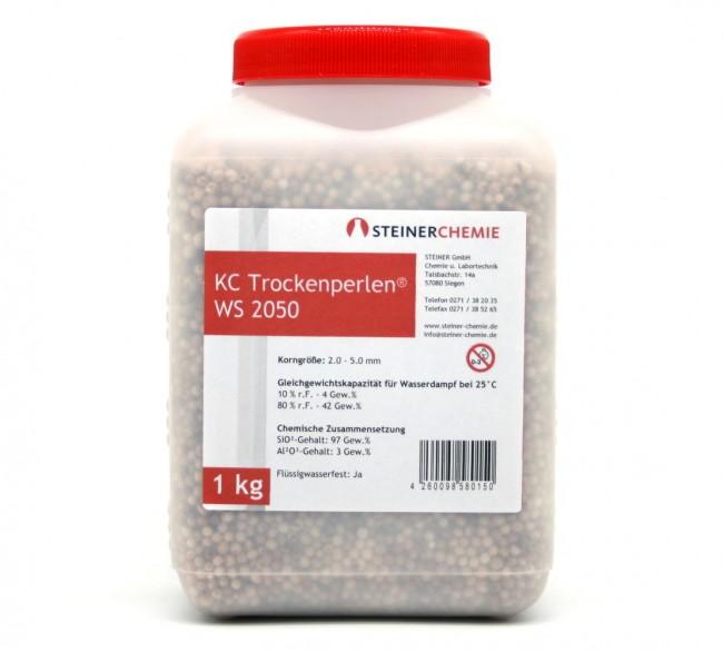 KC-Trockenperlen WS 2050 Dose a 1kg (regenerierbar)