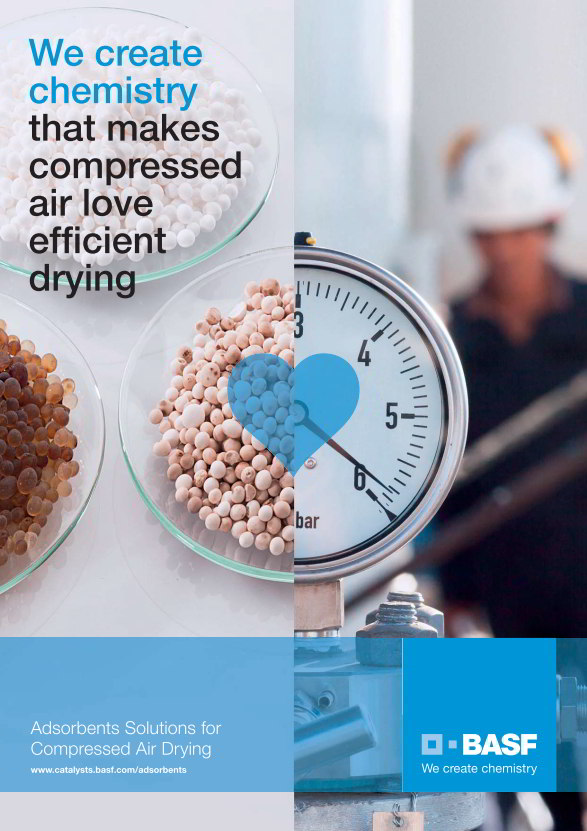Broschüre: BASF Adsorbents Solutions for Compressed Air Drying
