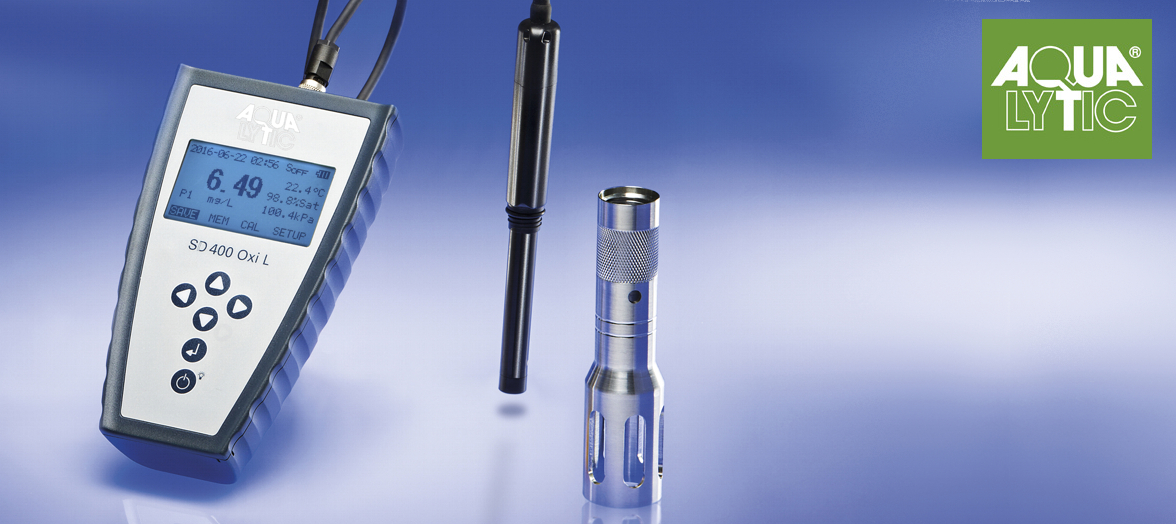 Sauerstoffmessgerät SD 400 Oxi L