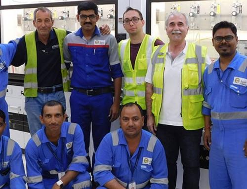 HIC-Testlabor nach NACE-Standard in Abu Dhabi erfolgreich fertiggestellt