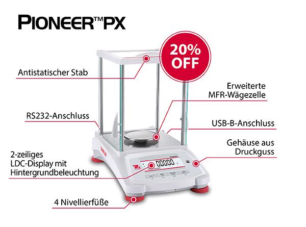 Ohaus Waage Pioneer PX