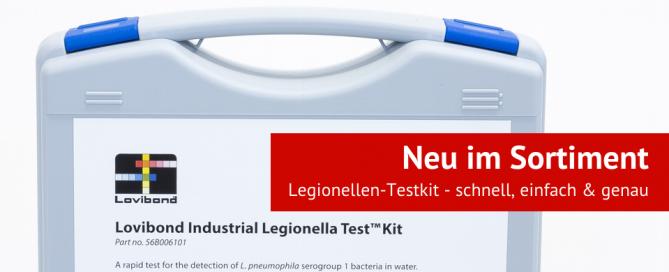 Legionellen Test Kits von Lovibond