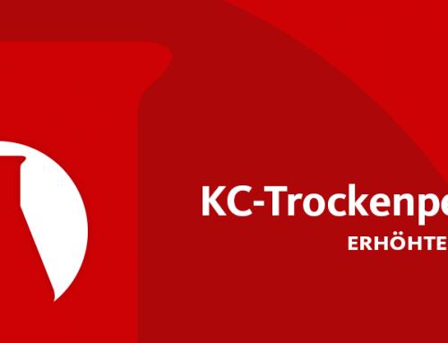 Erhöhte Lieferzeit von KC-Trockenperlen® und Sorbead-Produkten