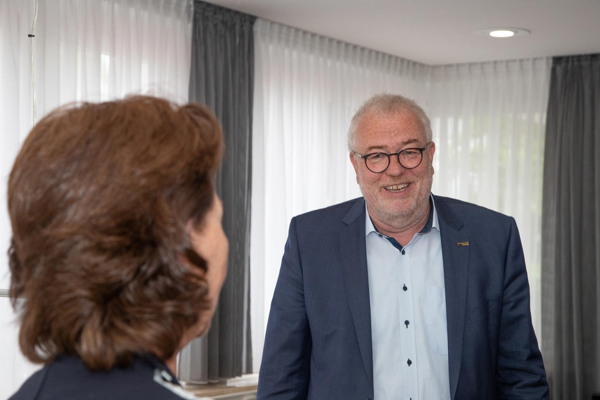 Walter Kiß, Bürgermeister der Stadt Kreuztal