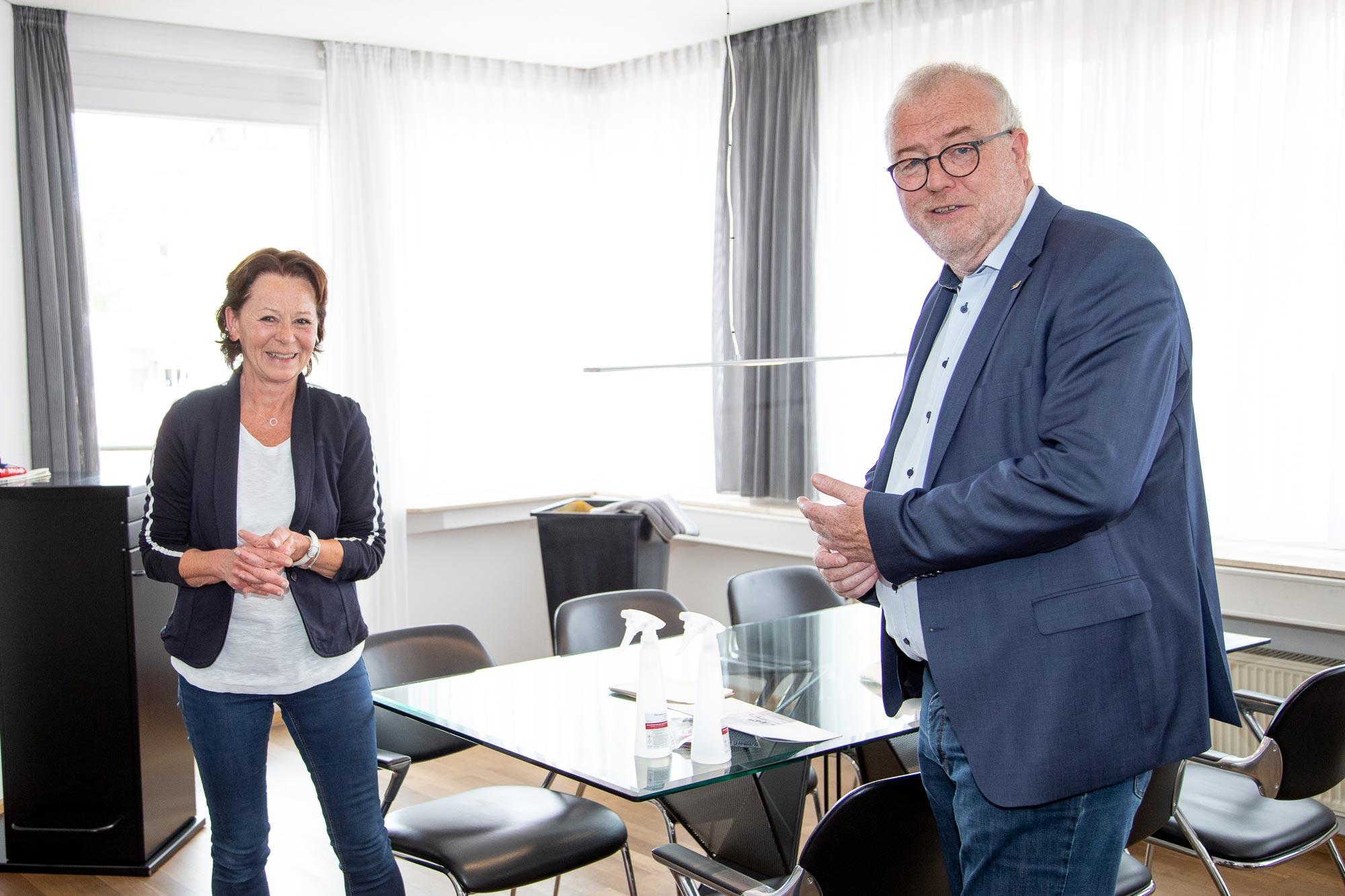 Regina Steiner und Walter Kiß