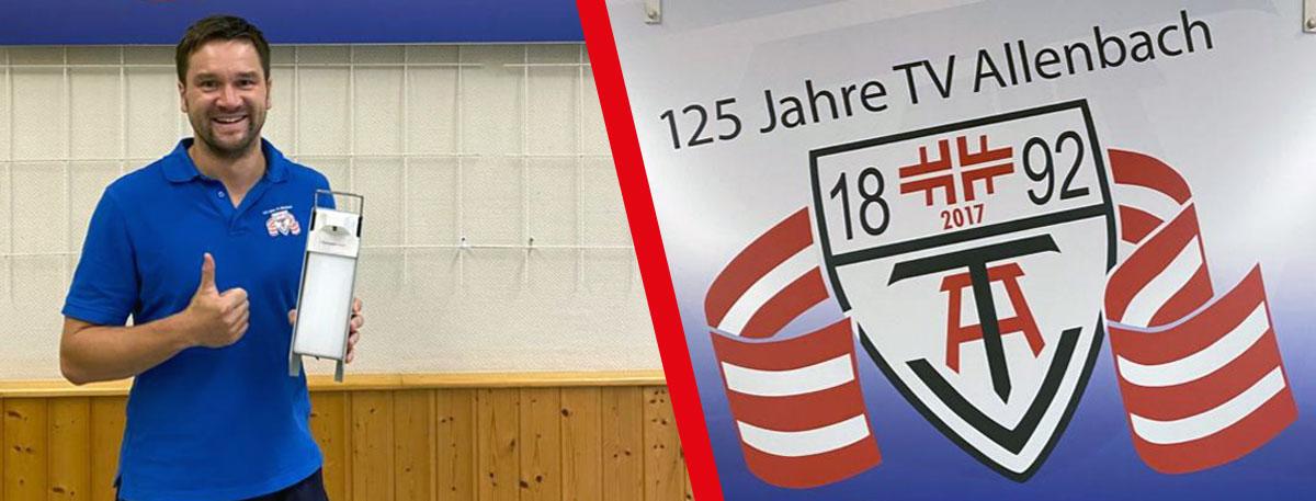 Steiner Chemie Spende an TV-Allenbach