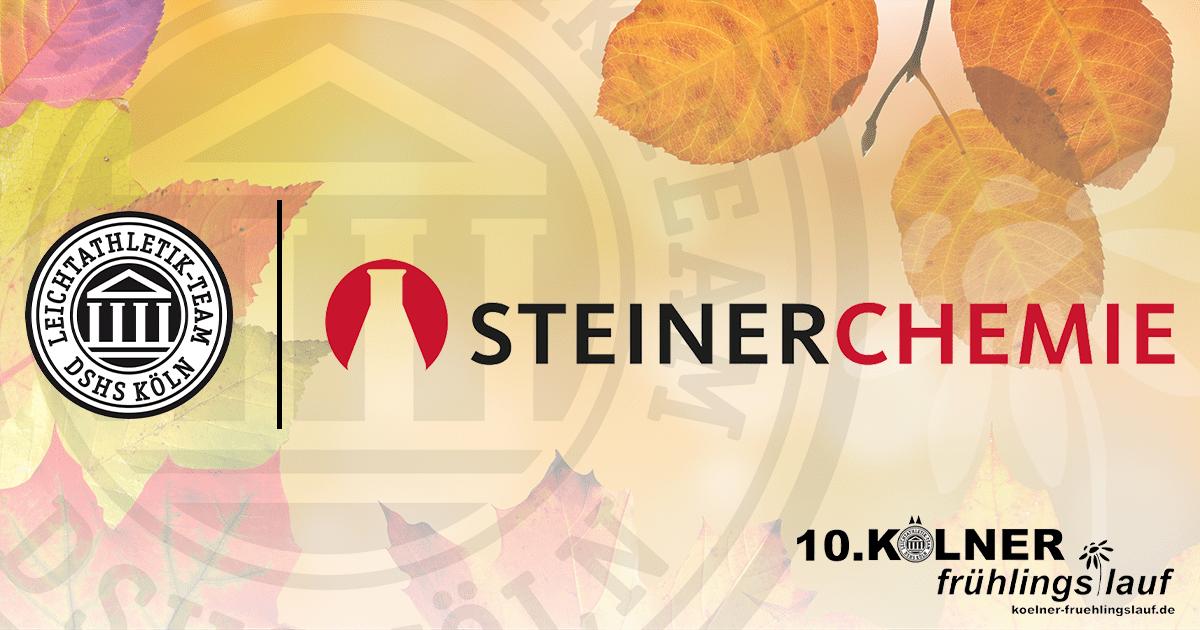 Steiner Chemie ist Partner des 10. Kölner Frühlingslauf