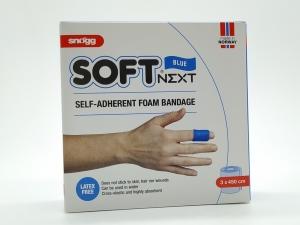 Snögg Soft Next 3 cm blau