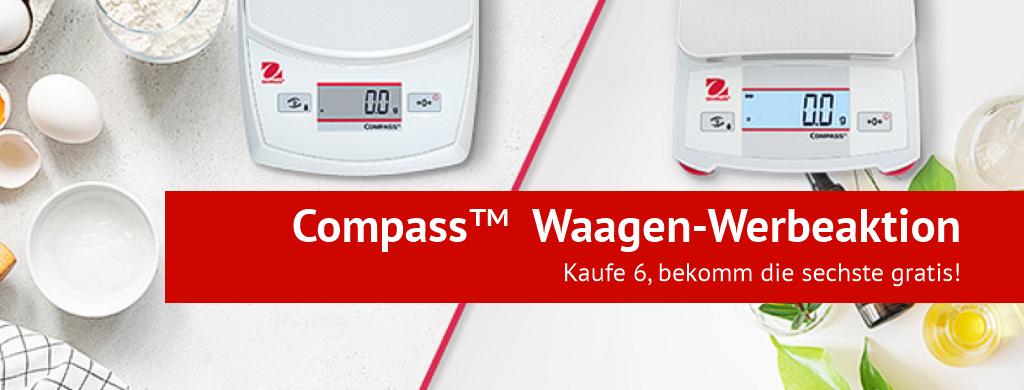 Compass Waagen-Werbeaktion