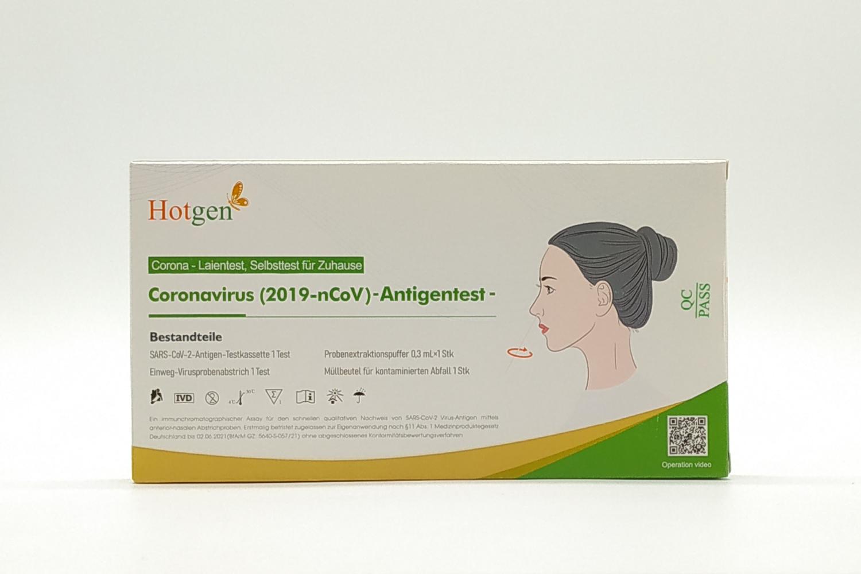 COVID-19 Schnelltest Hotgen