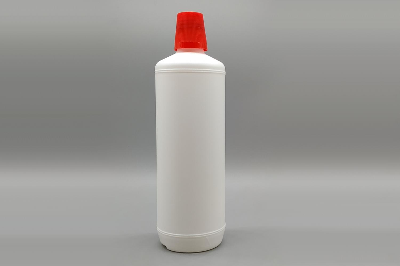 Rundflasche PE weiß 1000 ml