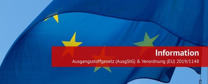 Informationen zum AusgStG und der Verordnung (EU) 2019/1148
