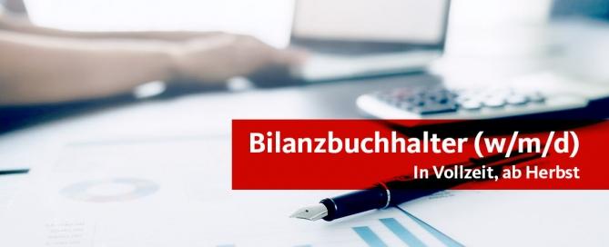 Stellenangebot Bilanzbuchhalter (w/m/d)